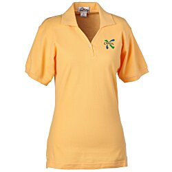 View a larger, more detailed picture of the Stature 100 Baby Pique Polo - Ladies 