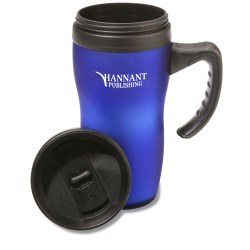 View a larger, more detailed picture of the Soft Touch Mug - 16 oz