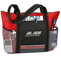 View a larger, more detailed picture of the Icy Bright Cooler Tote