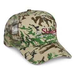 View a larger, more detailed picture of the Mesh Back Camouflage Cap - Embroidered