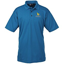 View a larger, more detailed picture of the Moisture Management Polo w Stain Release Men s
