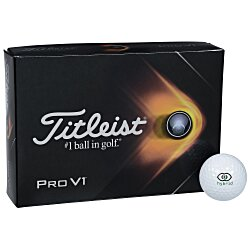View a larger, more detailed picture of the Titleist Pro V1 Golf Ball - Dozen - Standard