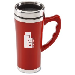 View a larger, more detailed picture of the Merge Travel Mug - 16 oz 