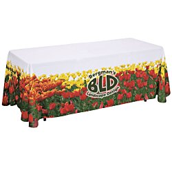 View a larger, more detailed picture of the Closed-Back Table Throw - 6 - Full Color
