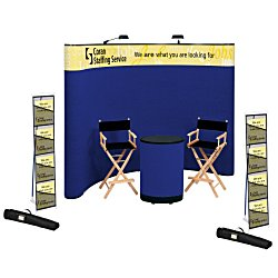 View a larger, more detailed picture of the Deluxe Curved Floor Display - 10 - Header - Kit