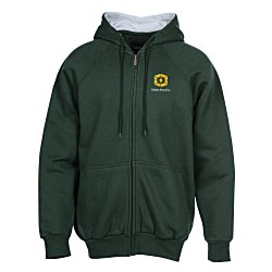 View a larger, more detailed picture of the Ultra Club Thermal-Lined Full Zip Sweatshirt