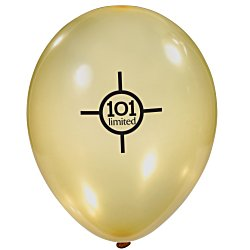 View a larger, more detailed picture of the Balloon - 9 Metallic Colors