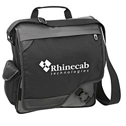 View a larger, more detailed picture of the Satellite Vertical Laptop Bag - Screen