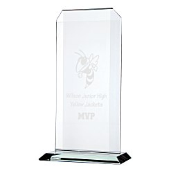 View a larger, more detailed picture of the Aspire Starfire Glass Award - 11 