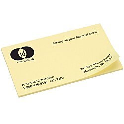 View a larger, more detailed picture of the Post-it&reg Business Card Notes - 2 x 3-1 2 - 50 Sheet