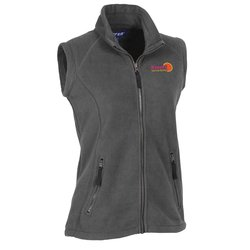 View a larger, more detailed picture of the Katahdin Tek Fleece Vest - Ladies