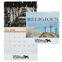 View a larger, more detailed picture of the Religious Reflections Calendar - Spiral
