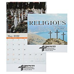 View a larger, more detailed picture of the Religious Reflections Calendar - Stapled