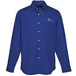 View a larger, more detailed picture of the Easy Care Stretch Poplin Shirt - Men s