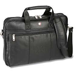 View a larger, more detailed picture of the Wenger Leather Business Brief