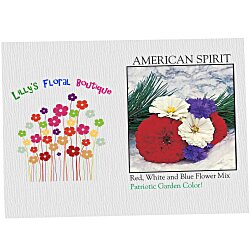 View a larger, more detailed picture of the Impression Series Seed Packet - American Spirit