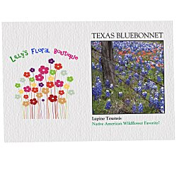 View a larger, more detailed picture of the Impression Series Seed Packet - Texas Bluebonnet