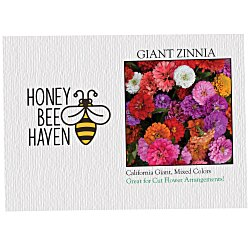 View a larger, more detailed picture of the Impression Series Seed Packet - Giant Zinnia