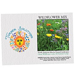 View a larger, more detailed picture of the Impression Series Seed Packet - Wildflower Mix