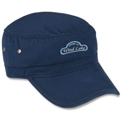 View a larger, more detailed picture of the Organic Military Cap