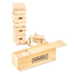 View a larger, more detailed picture of the Tumbling Tower Wood Block Game
