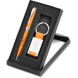 View a larger, more detailed picture of the Colorplay Maxine Pen & Keyring Gift Set