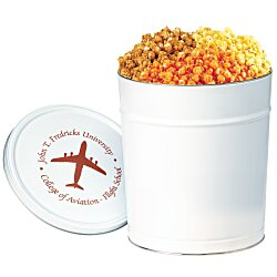 View a larger, more detailed picture of the 3-Way Popcorn Tin - Solid - 3-1 2 Gallon