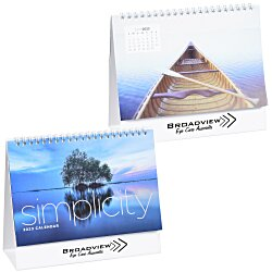 View a larger, more detailed picture of the Simplicity Desk Calendar - Large
