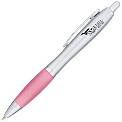 View a larger, more detailed picture of the Curvy Pen - Silver Fresh