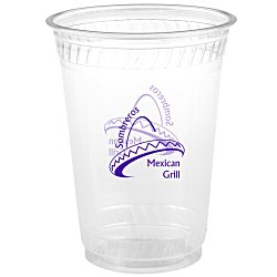 View a larger, more detailed picture of the Compostable Clear Cup - 10 oz - Low Qty