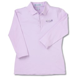 View a larger, more detailed picture of the Extreme 3 4 Sleeve Jersey Polo - Ladies