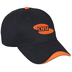 View a larger, more detailed picture of the Wave Cap - 3-D Embroidery