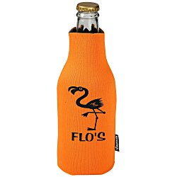 View a larger, more detailed picture of the Zip-Up Bottle KOOZIE&reg Kooler