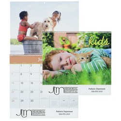 View a larger, more detailed picture of the Just Kids 12-Month Calendar