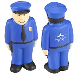View a larger, more detailed picture of the Stress Reliever - Policeman