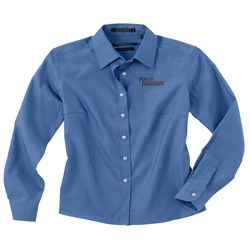 View a larger, more detailed picture of the Forsyth Pinpoint Oxford Shirt - Ladies