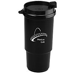 View a larger, more detailed picture of the Insulated Auto Tumbler - 16 oz - Recycled