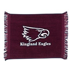 View a larger, more detailed picture of the Jewel Collection Soft Touch Sport Stadium Towel - 11 x 17