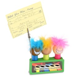 View a larger, more detailed picture of the Goofy Guy Highlighter Memo Holder Set