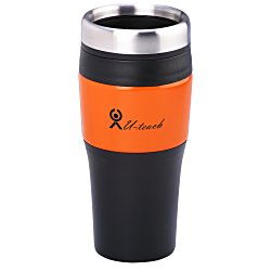 View a larger, more detailed picture of the Metallic Panel Tumbler - 16 oz