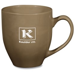 View a larger, more detailed picture of the Hand Painted Earth Tone Mug - 13 oz