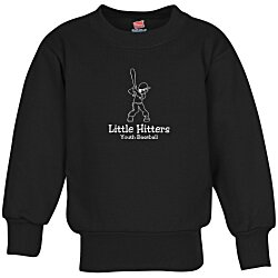 View a larger, more detailed picture of the Hanes ComfortBlend Sweatshirt - Youth - Screen