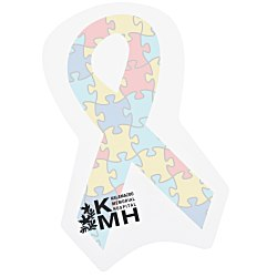 View a larger, more detailed picture of the Bic Sticky Note - Awareness Ribbon - Autism