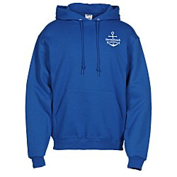 View a larger, more detailed picture of the Jerzees NuBlend Hooded Sweatshirt - Screen - Colors