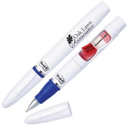 View a larger, more detailed picture of the Post-it&reg Flag Pen w Sign Here Flags