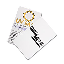View a larger, more detailed picture of the UV Safe Indicating Card