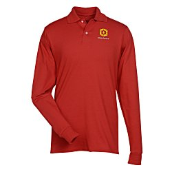 View a larger, more detailed picture of the Jerzees SpotShield LS Jersey Knit Shirt