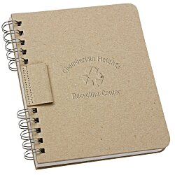 View a larger, more detailed picture of the Recycled Cardboard Journal
