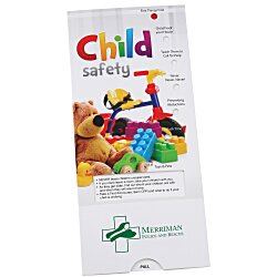 View a larger, more detailed picture of the Child Safety Tips Pocket Slider
