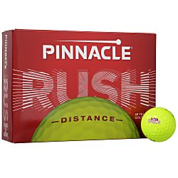 View a larger, more detailed picture of the Pinnacle Gold Golf Ball - Dozen